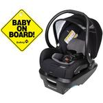 Maxi-Cosi Mico Max Plus Infant Car Seat - Frequency Black with BONUS Baby on Board Sign