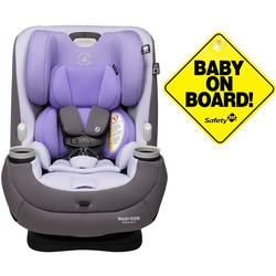 Maxi-Cosi Pria 3-in-1 Convertible Car Seat - Moonshine Violet with Baby on Board Sign