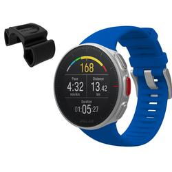 Polar Vantage M Multi Sport GPS Heart Rate Watch - Blue (M/L) with BONUS Bike Mount
