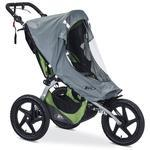 BOB S01755400 Ironman Sport Utility Single Stroller Weather Shield - Grey