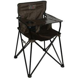 ciao! baby HB2004 - Portable High Chair - Chocolate - Open Box