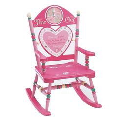Levels of Discovery RAB00001 Time Out Chair for Girls