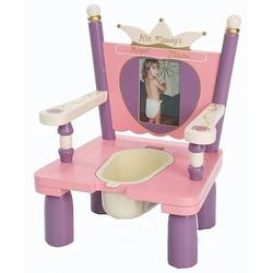 Levels of Discovery RAB40001 Her Majesty's Throne Potty Chair