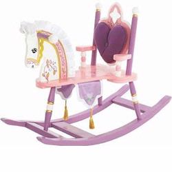 Levels of Discovery RAB20001 Kiddie Up Princess Rocking Horse