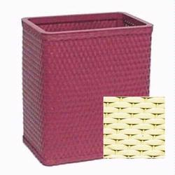 S426-Y Redmon Chelsea Collection Square Wastebasket - Yellow