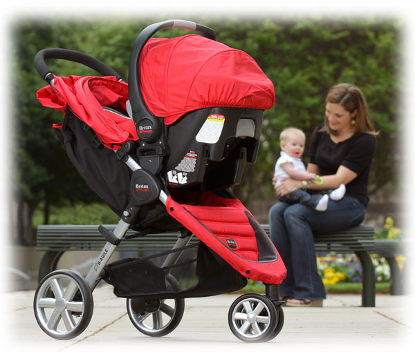 B-Agile stroller with B-Safe Car Seat